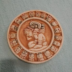 Mexican Mayan Zodiac Astrological Plaster Plaque